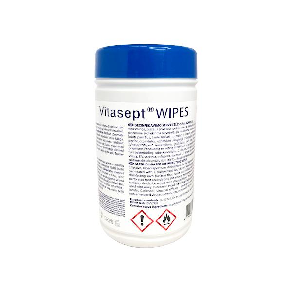 Vitasept Wipes Desinfektiopyyhe