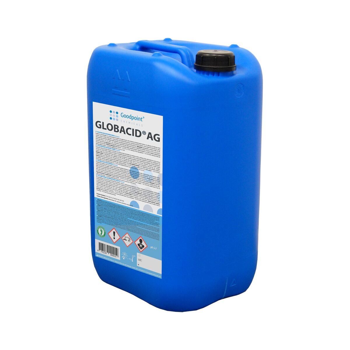 Globacid® AG on tehokas desinfiointiaine eläinsuojien ja muiden maatalousrakennusten